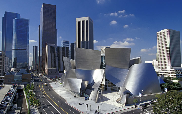 Walt Disney Concert Hall em Los Angeles