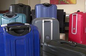 Aluguel de Malas - Variedades de bagagens de diversas cores