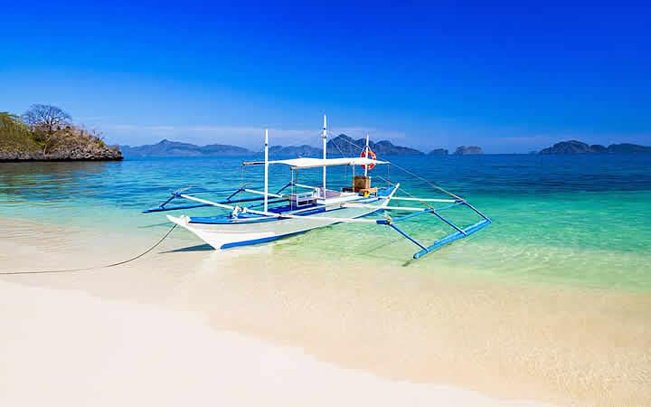Barco Filipino - Cebu Ilhas Filipinas