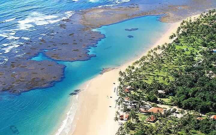 Barra Grande - Norte da Península de Maraú