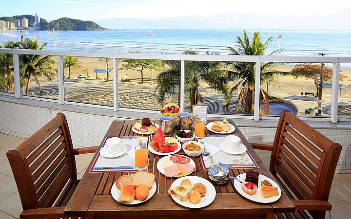 Café da Manhã - Mercure Camboriú Hotel
