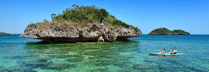 Caiaque nas Ilhas Filipinas
