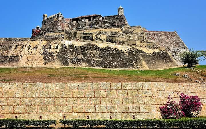 Castelo San Felipe de Barajas em Cartagena