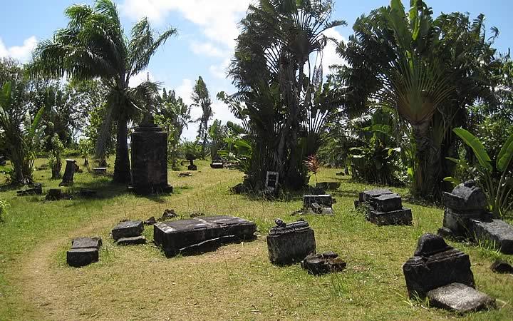 Cemitério dos piratas em Madagascar