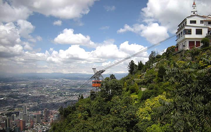 Cerro Monserrate em Bogotá