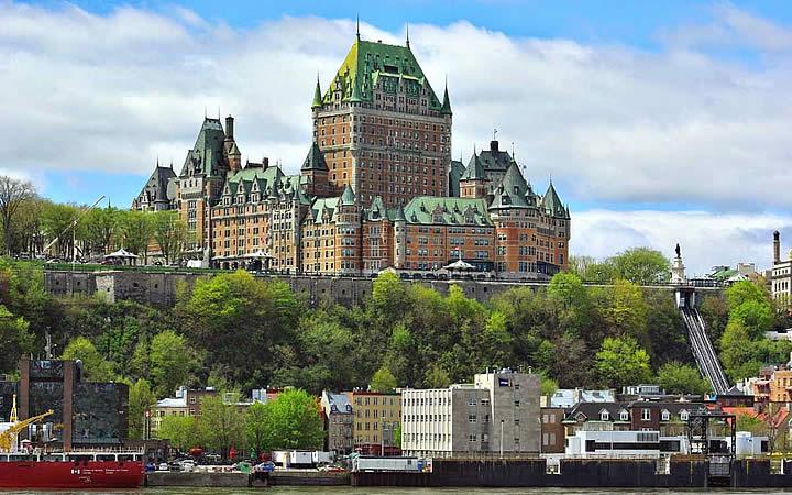 Cidade Alta em Quebec