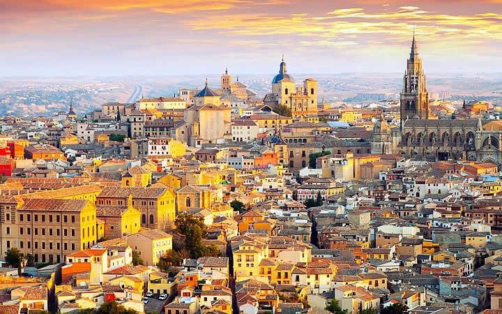 Granada - Spain Vista aérea da cidade