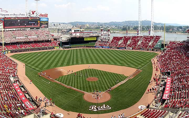 Great American Ball Park em Cincinnati
