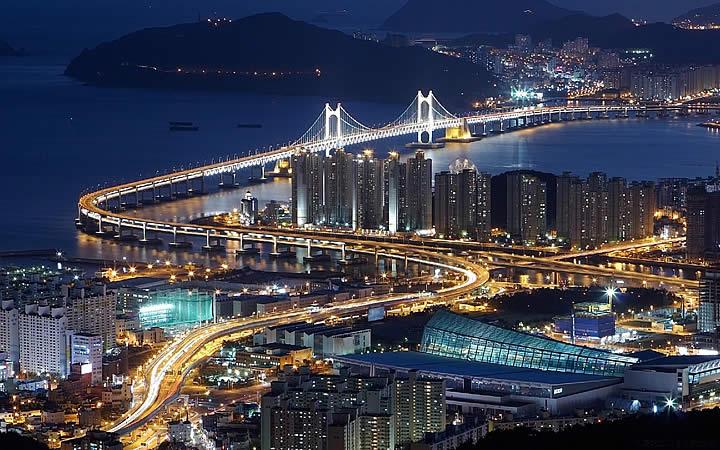 Gwangan Beach - Ponte principal