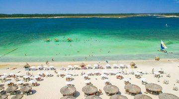 Praia de Jericoacoara - Destinos no nordeste