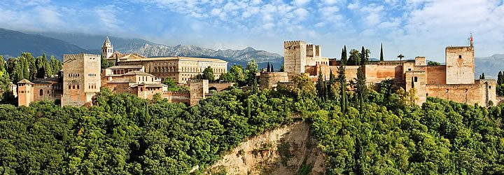 La Alhambra - Granada, Espanha