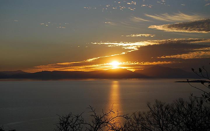 Lago de Chapala - Pôr do Sol