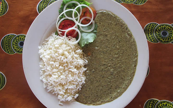 Mapata - Prato típico de Madagascar