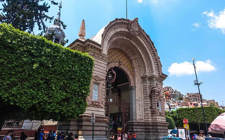 Mercado Hidalgo em Guanajuato