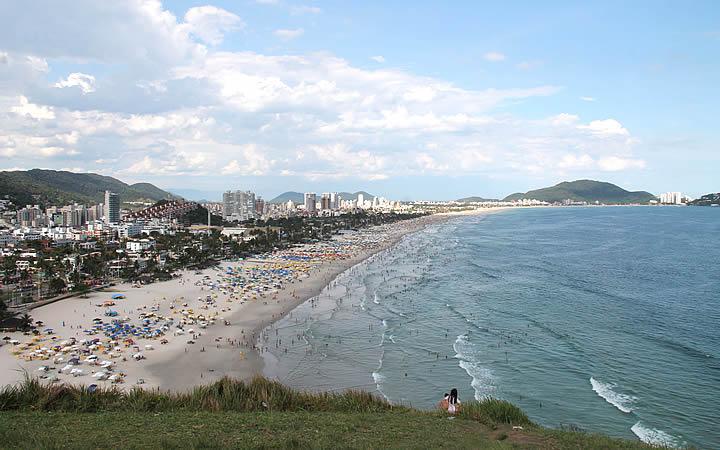 Morro do Maluf Mirante para praia da Enseada- Guarujá