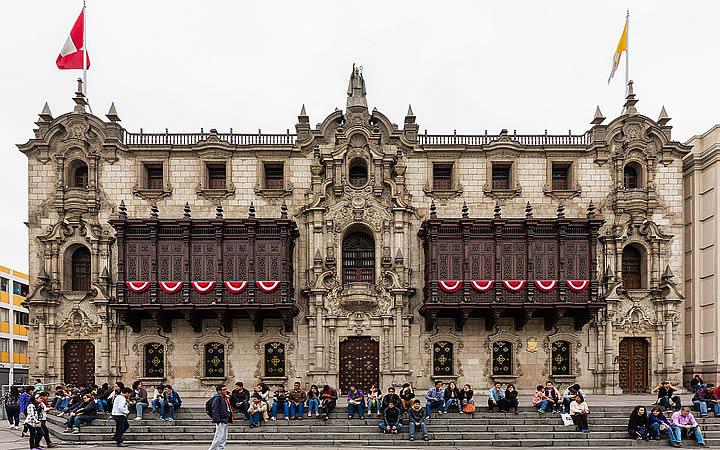 Palácio Episcopal - Lima