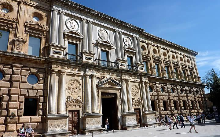 Palácio de Carlos V em Granada