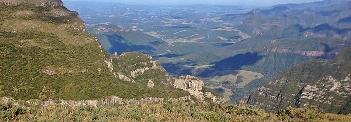 Parque Nacional de São Joaquim em Santa Catarina