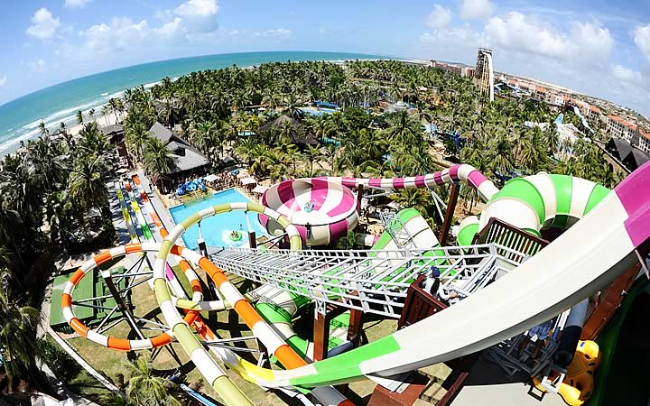 Parque aquático Beach Park em Fortaleza