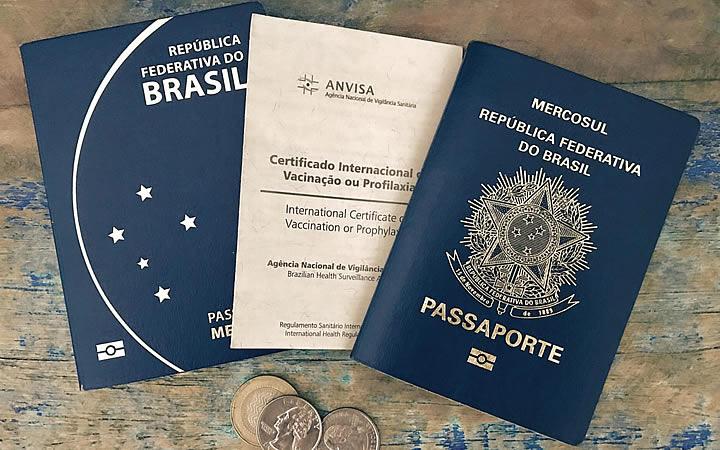Passaporte e o Certificado Internacional de Vacinação ou Profilaxia (CIVP)
