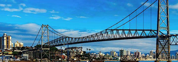 Ponte em Florianópolis