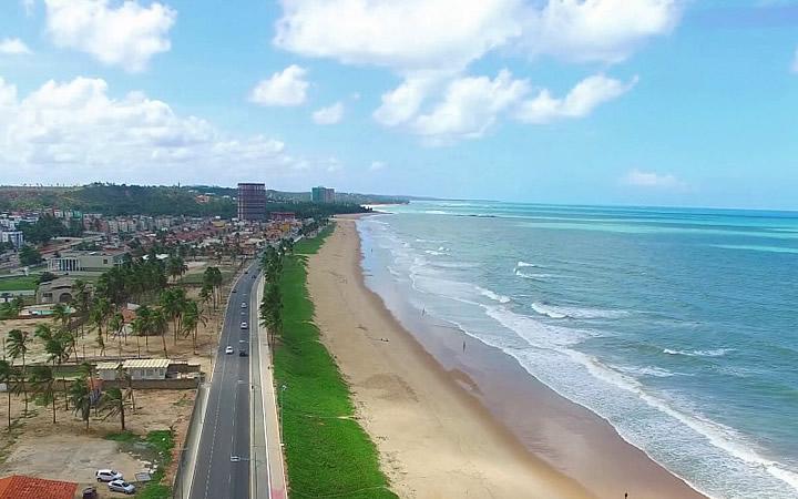 Praia Cruz das almas em Maceió