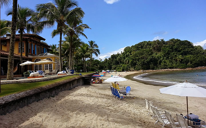 Praia das Conchas no Guarujá