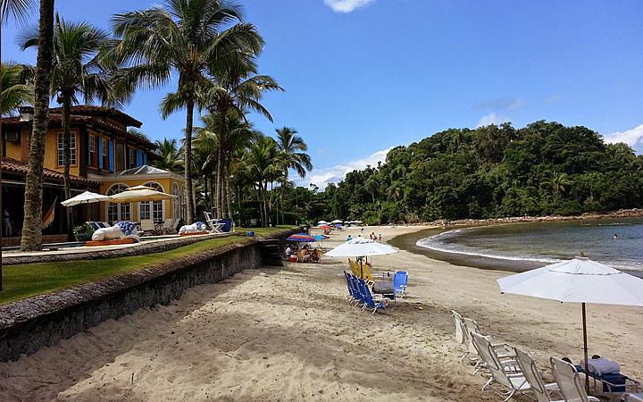 Praia das Conchas no Guarujá