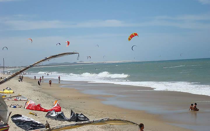 Praia de Cumbuco em Fortaleza
