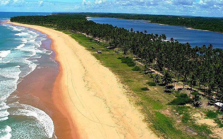 Praia do Cassange - Península de Maraú