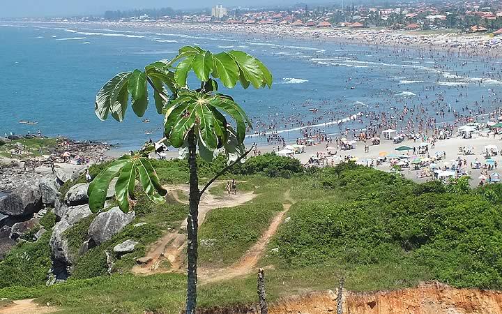 Praia do Cibratel em Itanhaém