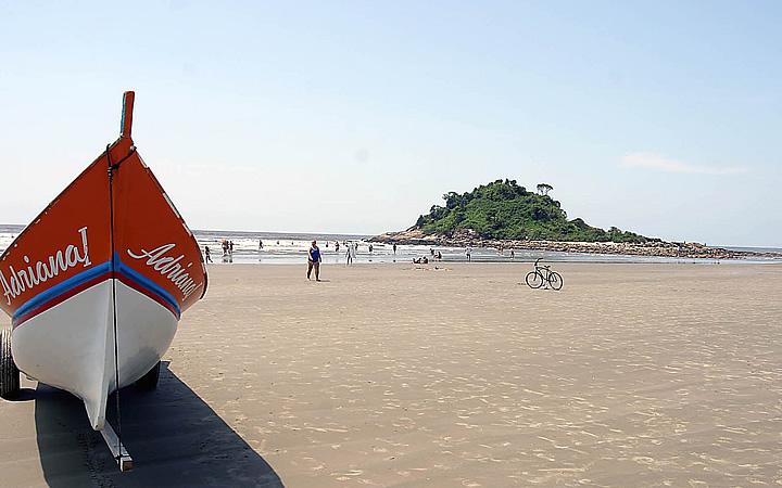 Praia dos Pescadores em Itanhaém