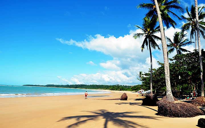 Praia dos coqueiros em Trancoso - Bahia