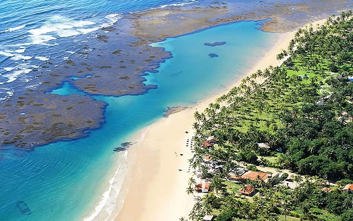 Praia em Barra Grande - Maraú - Bahia