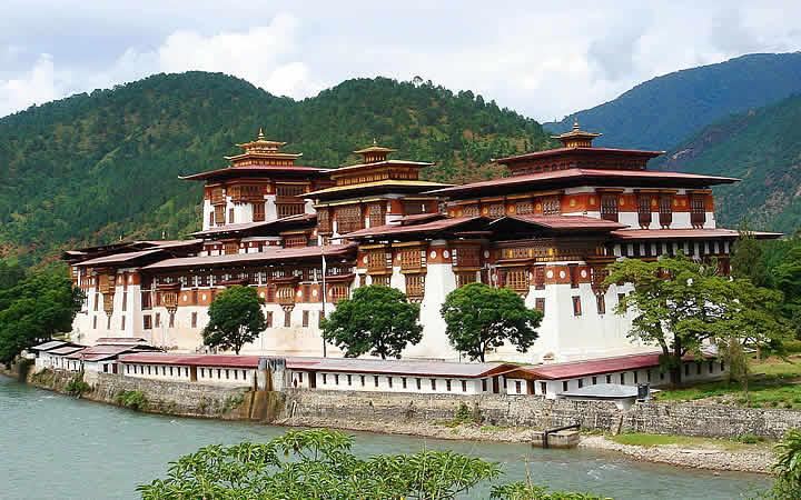 Punakha Dzong - Butão