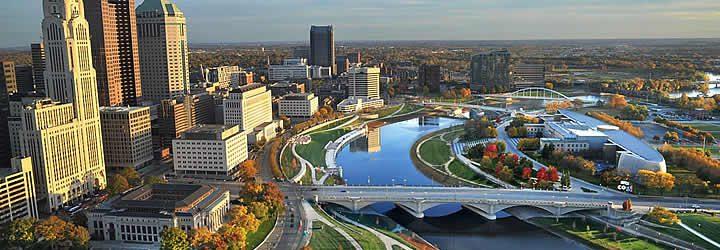 Rio Ohio em Cincinnati
