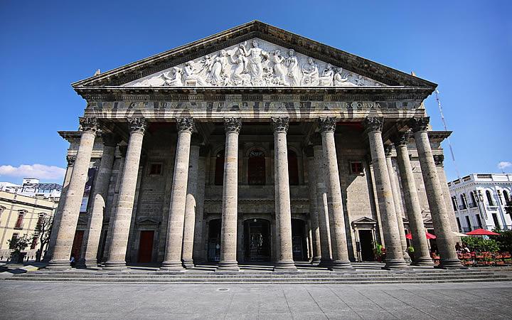 Teatro Degollado em Guadalajara