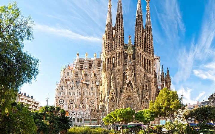 Templo Expiatório da Sagrada Família de Barcelona