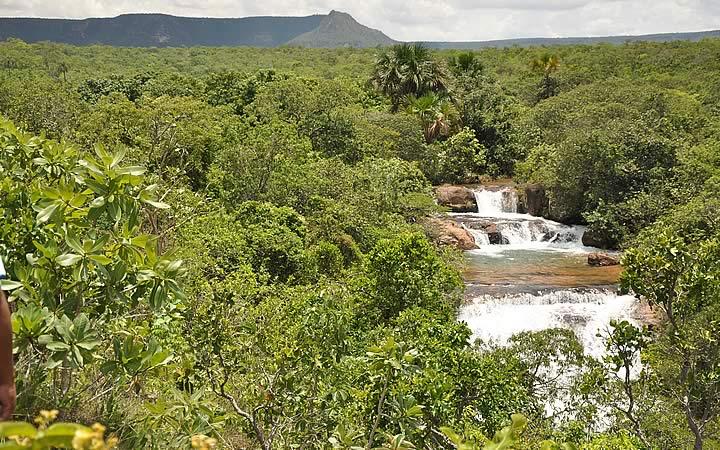 Terra Ronca - Cachoeiras
