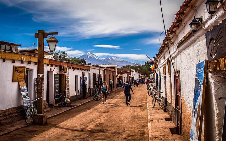 Vilarejo de San Pedro de Atacama