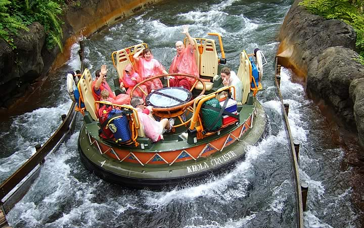 Atrações na Disney