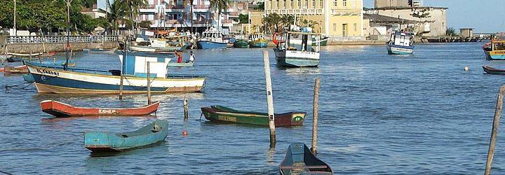 Barcos em Conceição da Barra - Bahia