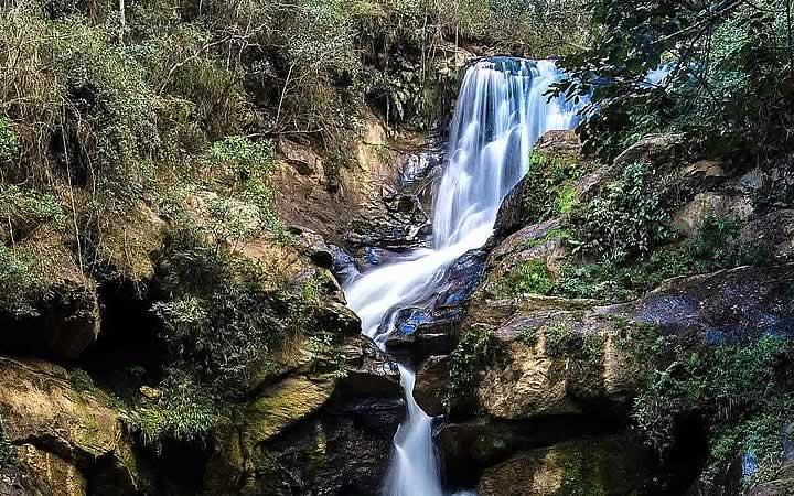 Cachoeira do Véu em São Thomé das Letras