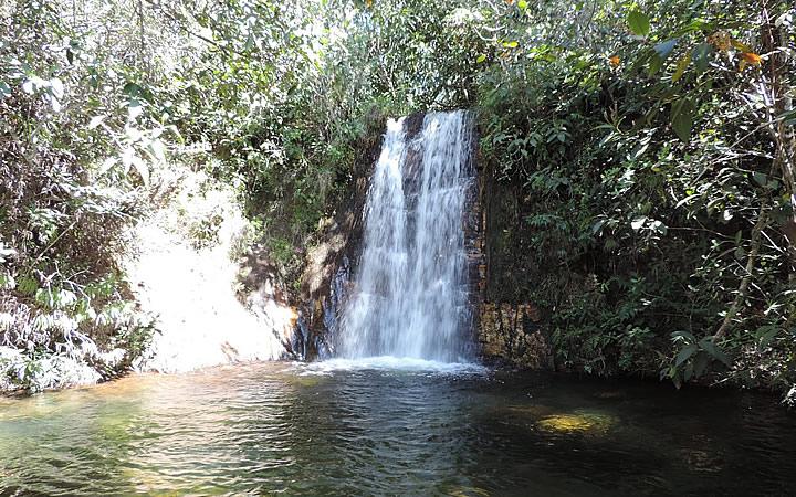 Cachoeira dos Cristais na Chapada dos Veadeiros