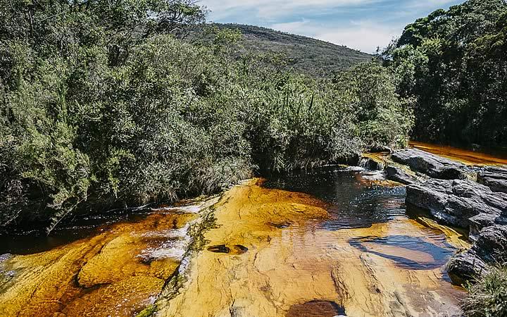 Cachoeira em Ibitipoca