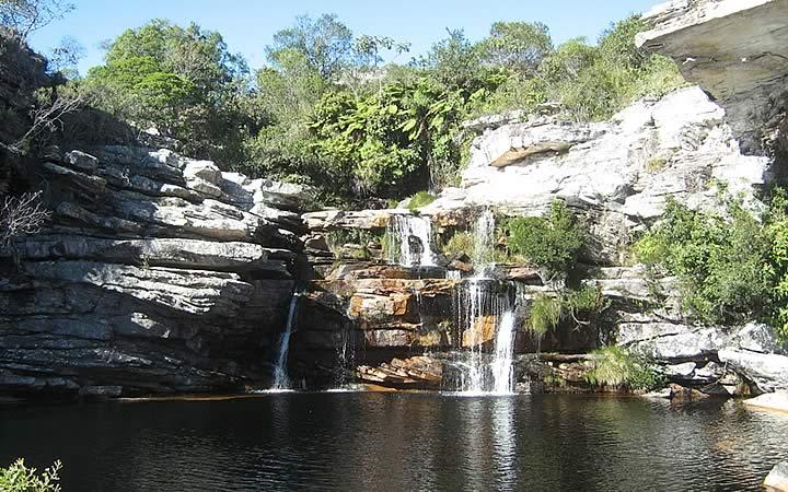 Cachoeira em Monte Carlos MG