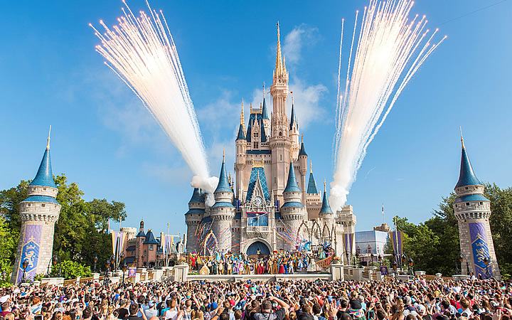 Disney world magic kingdom Castelo da Cinderela