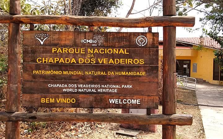 Entrada do Parque Nacional dos Veadeiros