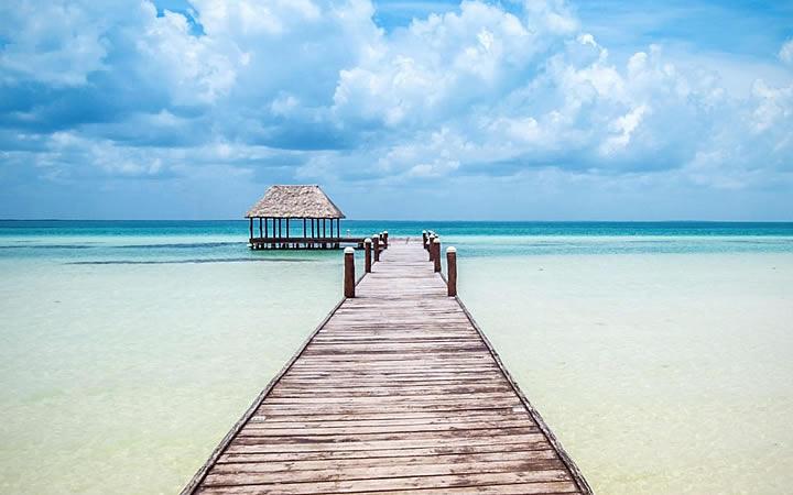 Ilha de pescadores Holbox em Cancún
