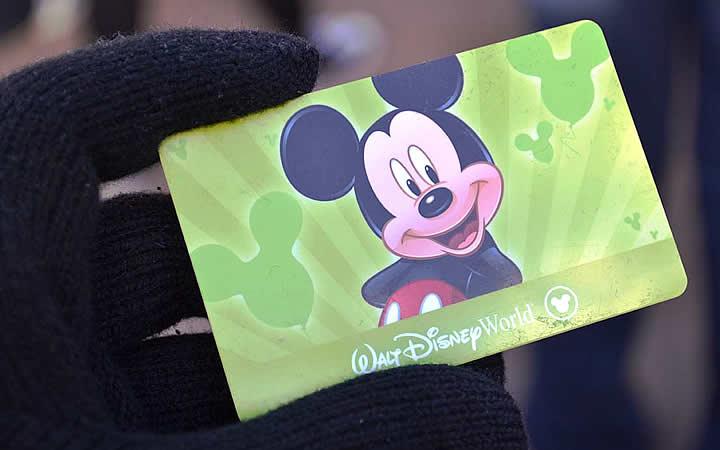 Ingresso para Disney - Cartão Magnético